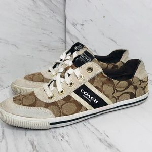 Coach Authentic Camil style canvas sneakers shoes